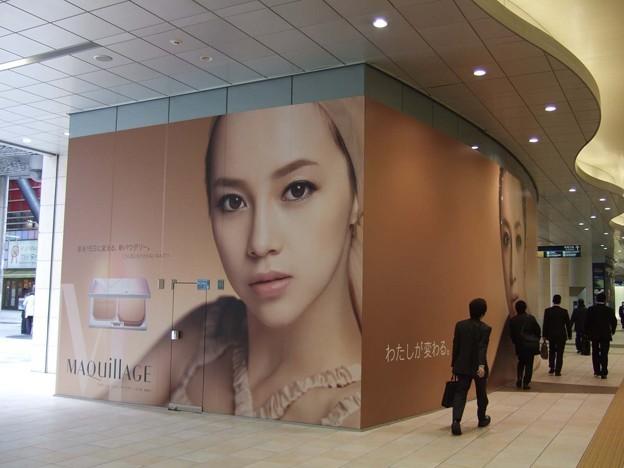 5年前の東京OOH交通広告<3月9日~3月15日>Tokyo AD 5yrs ago