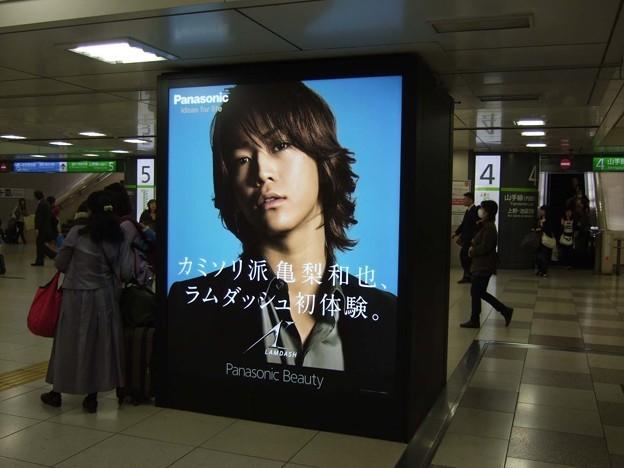 5年前の東京OOH交通広告<3月30日~4月5日>Tokyo AD 5yrs ago