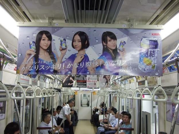 5年前の東京OOH交通広告<8月3日~8月9日>Tokyo AD 5yrs ago