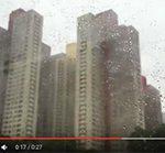 ☆【香港動画 2016】雨の九龍ビル街:摩天楼(6本)