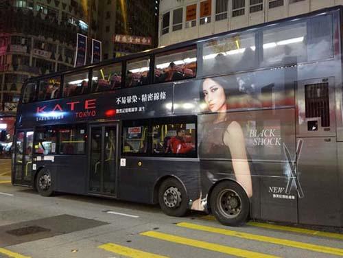 ☆【香港の広告】夜の彌敦道(ネイザンロード)をゆく 183枚
