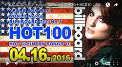 ☆日本・アジア・世界の週間音楽ランキング(Billboard April 16th)