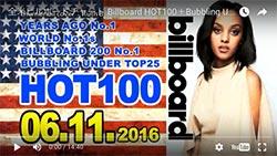 ☆日本・アジア・世界の週間音楽ランキング(Billboard Jun 11th)