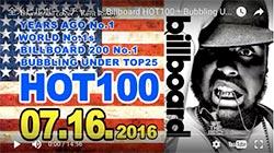 ☆日本・アジア・世界の週間音楽ランキング(Billboard Jul 16th)
