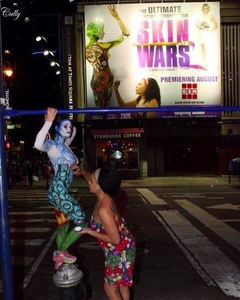 ameblo 世界の屋外広告なう(2016年8月7日)The World's billboards NOW