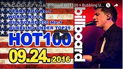 ☆日本・アジア・世界の週間音楽ランキング(Billboard Sep 24th)