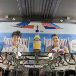 gooブログ 3月30日(木)のつぶやき:サロメデマート マリウス葉 オランジーナ(電車中吊広告)