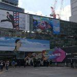 seesaaブログ 今週の渋谷ハチ公前ビルボード:ソフトバンク、ニモ&フレンズ・シーライダー、jins