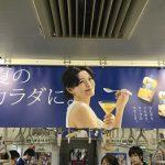 gooブログ 5月12日(金)のつぶやき:5月11日(木)のつぶやき:榮倉奈々 夏のランチに。じっくりコトコト(電車中吊広告)